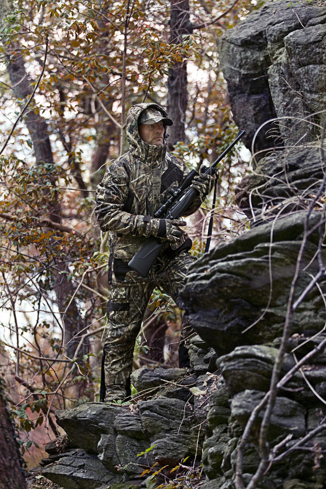 Outdoor /& Jagdhose Deerhunter Muflon Latzhose